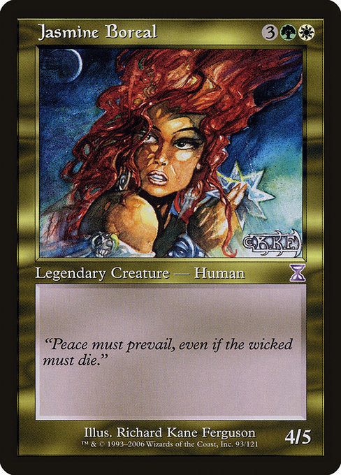 Jasmine Boreal [Time Spiral Timeshifted] | Emerald Dragon Games