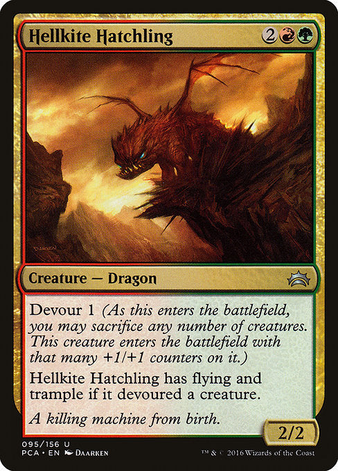 Hellkite Hatchling [Planechase Anthology] | Emerald Dragon Games