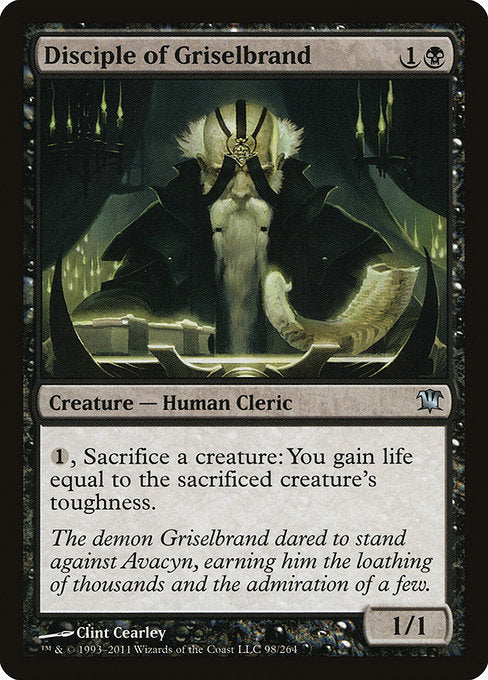 Disciple of Griselbrand [Innistrad] | Emerald Dragon Games