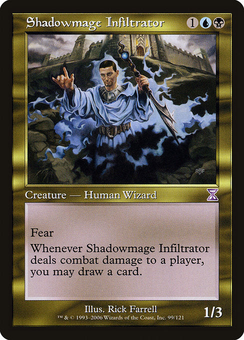 Shadowmage Infiltrator [Time Spiral Timeshifted] | Emerald Dragon Games