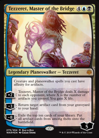 Tezzeret, Master of the Bridge [War of the Spark]