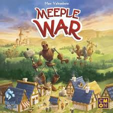 Meeple War Strategy Board Game