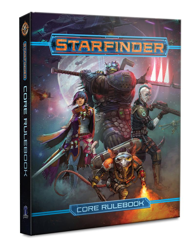 Starfinder RPG: Core Rulebook Hardcover | Emerald Dragon Games
