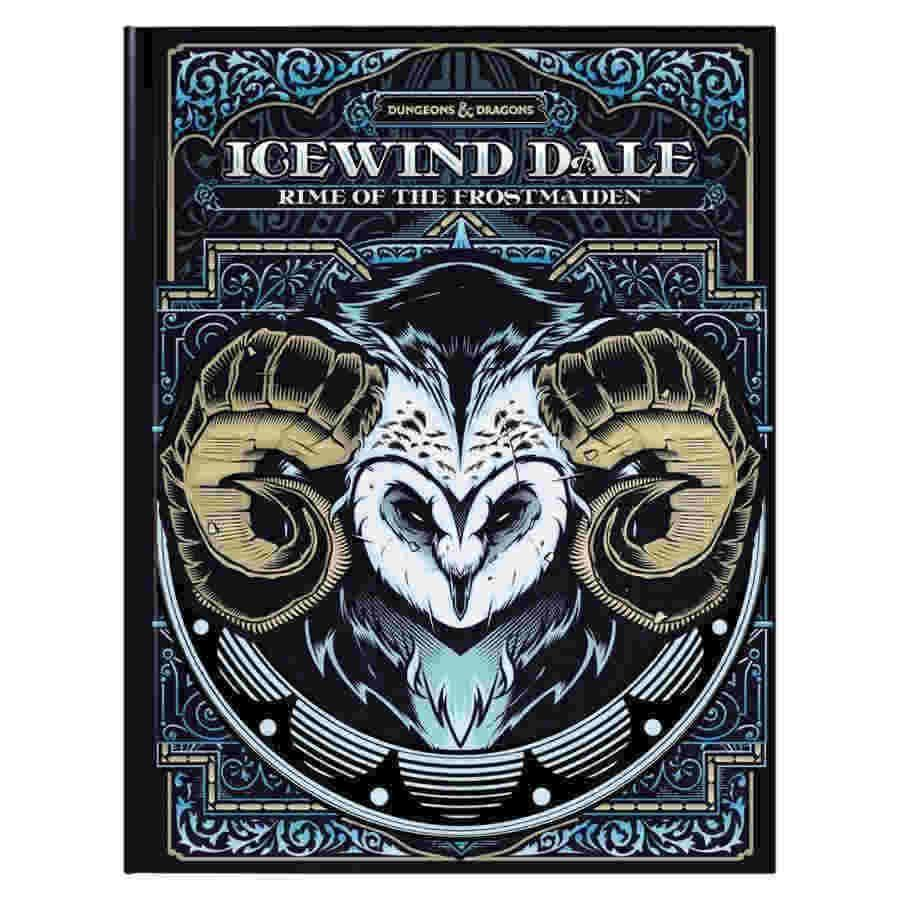 D&D Adventure Icewind Dale: Rime of the Frostmaiden Alternate Cover | Emerald Dragon Games