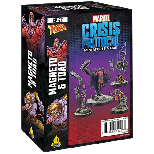 Marvel Crisis Protocol: Magneto & Toad Pack | Emerald Dragon Games