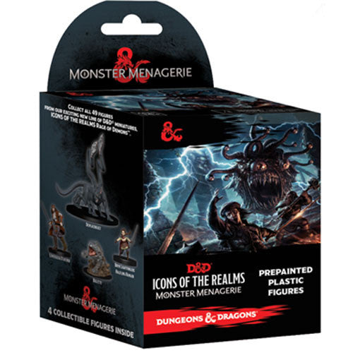 D&D Icons of the Realms Miniatures: Monster Menagerie - Booster Pack | Emerald Dragon Games