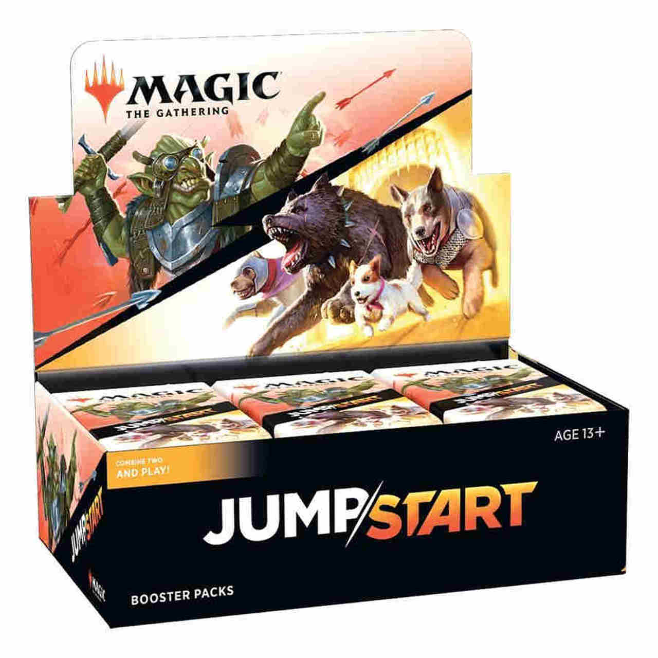 Magic: The Gathering - Jumpstart Booster Box | Emerald Dragon Games