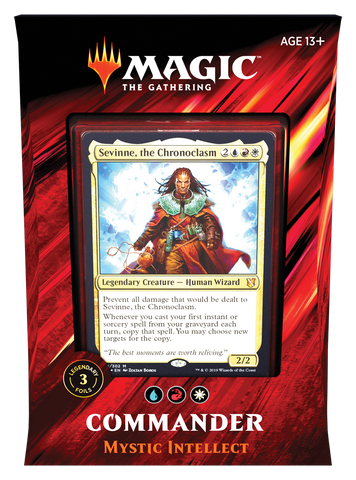 MAGIC THE GATHERING CCG: COMMANDER (2019) Pre-Order