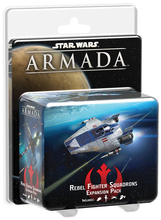 Star Wars Armada: Rebel Fighter Squadrons Expansion Pack | Emerald Dragon Games