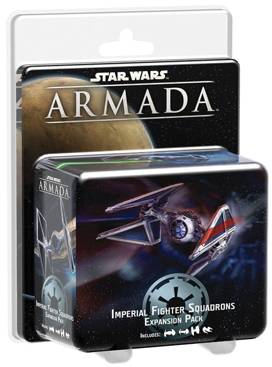 Star Wars Armada: Imperial Fighter Squadrons Expansion Pack | Emerald Dragon Games