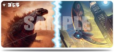 Ultra Pro Table Mat 6 Foot Magic the Gathering Ikoria Alternate Art Godzilla and Mothra | Emerald Dragon Games