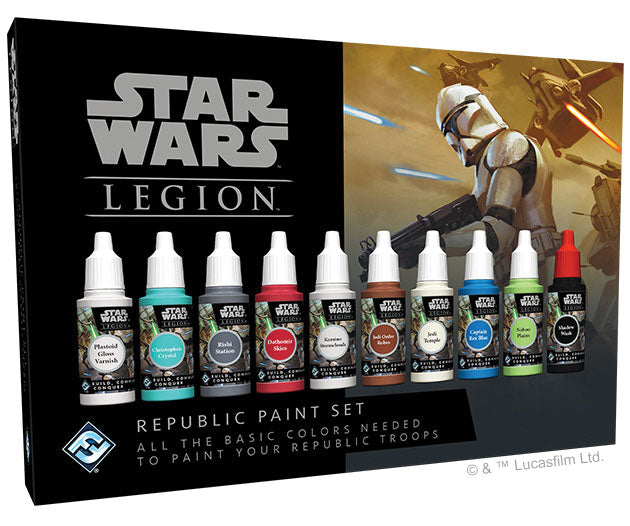 Star Wars: Legion - Republic Paint Set | Emerald Dragon Games