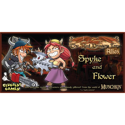 RED DRAGON INN: ALLIES - SPYKE AND FLOWER | Emerald Dragon Games