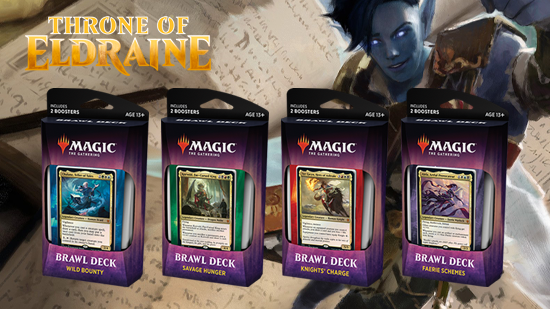Throne of Eldraine - Brawl Deck [Set of 4] | Emerald Dragon Games