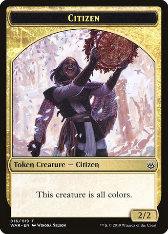 Citizen [War of the Spark Tokens]