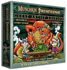 MUNCHKIN PATHFINDER: GUEST ARTIST EDITION (SHANE WHITE) | Emerald Dragon Games