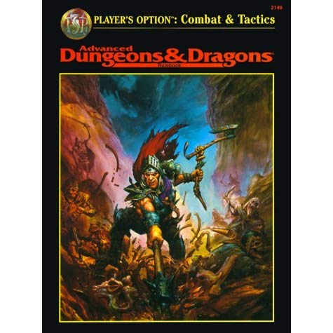Advanced Dungeons & Dragons Rulebook: Player's Option: Combat & Tactics