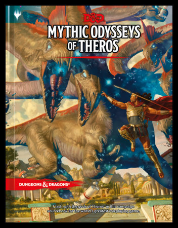 D&D 5th Edition: Mythic Odysseys of Theros  Pre-Order | Emerald Dragon Games