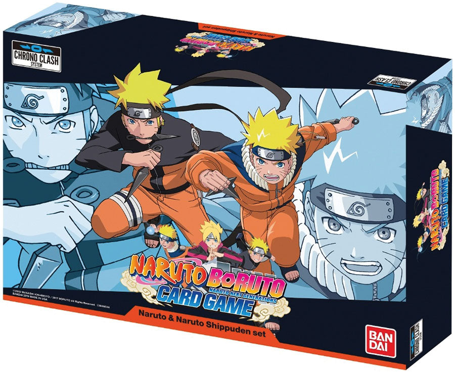 Naruto Boruto 2-Player Card Game: Naruto & Naruto Shippuden Set | Emerald Dragon Games