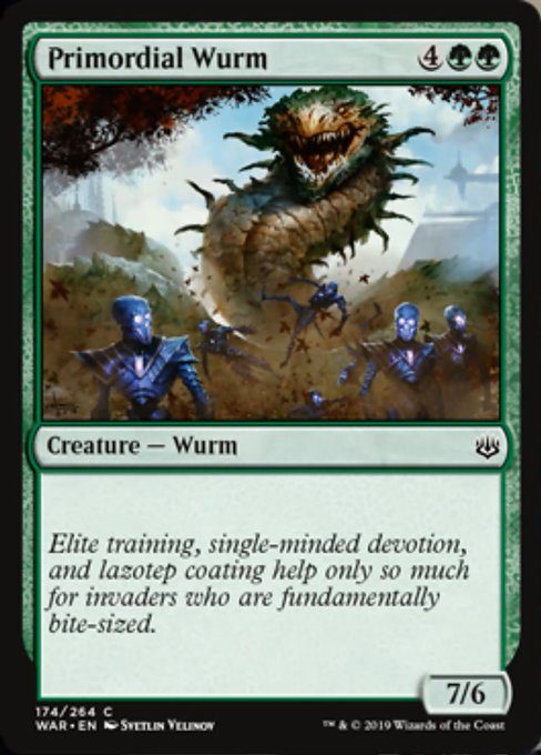 Primordial Wurm [War of the Spark]