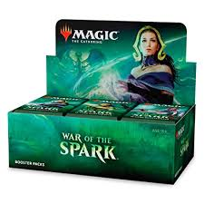 "War of the Spark Booster Box ""In-Store-Pick-Up Only"" 