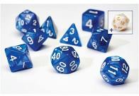 Sirius Dice Set: Pearl Blue (7)