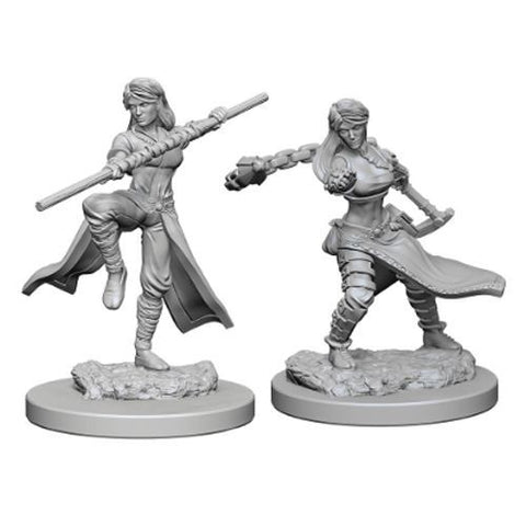 DUNGEONS & DRAGONS: NOLZUR'S MARVELOUS UNPAINTED MINIATURES: HUMAN FEMALE MONK