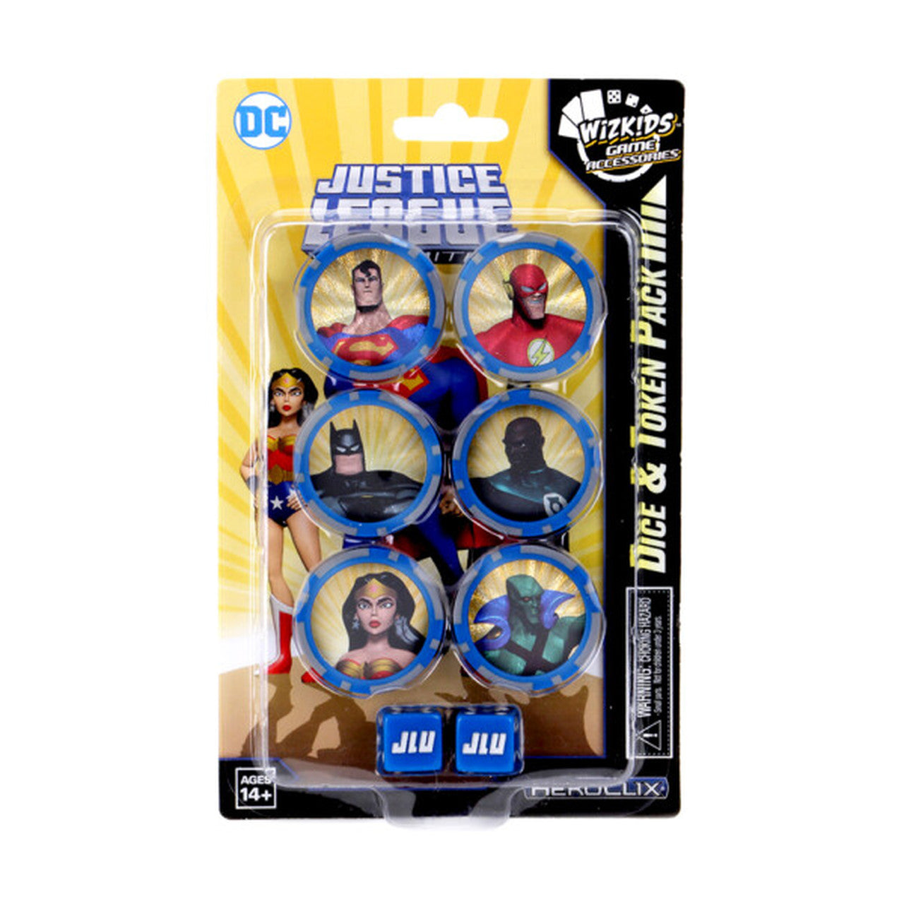 DC HeroClix: Justice League Unlimited Dice and Token Se | Emerald Dragon Games