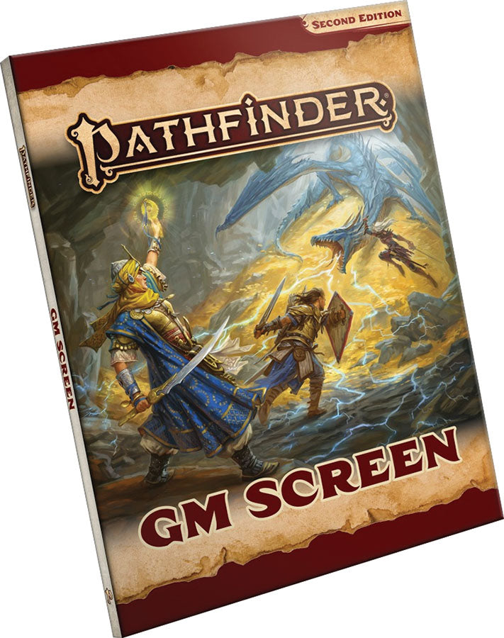 Pathfinder RPG: GM Screen (P2) | Emerald Dragon Games