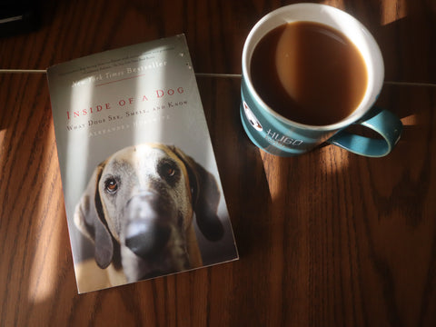 Hugo Coffee Roasters Gift Recommendations of Inside of a Dog with Hugo Coffee Mug | Giving to Dog Rescue Organizations Coffee Benefiting Dogs