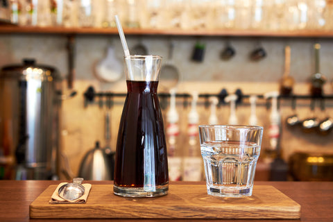 cold brew coffee drinks Hugo Coffee Roasters