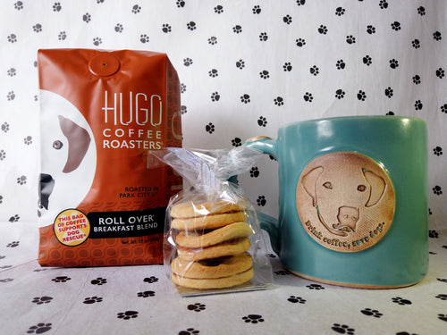 Dog Lover's Gift Pack | Rollover Breakfast Blend Coffee
