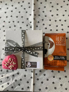 Coffee & Dog Lover's Valentine's Day Gift Pack | Coffee & Dog Treat