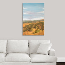 "Load image into Gallery viewer, Original Oil Painting  -  Cal's Delight, Lucas Valley California 2   -  36""H x 24""W x 5/8""D"