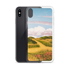 Load image into Gallery viewer, iPhone Case - Springs clouds with CA poppies 2 - FREE SHIPPING