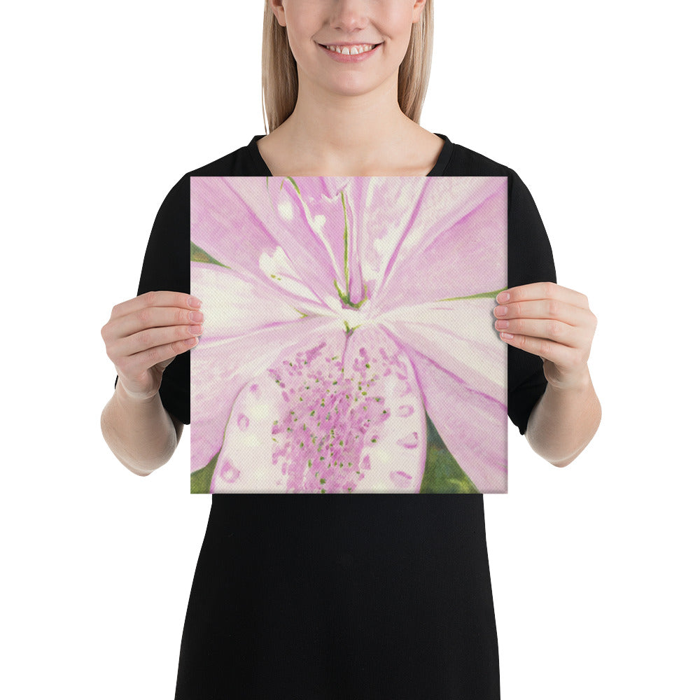 Canvas Print - Light pink Lily - FREE SHIPPING
