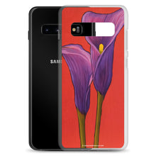 Load image into Gallery viewer, Samsung Case - Purple Calla lilies