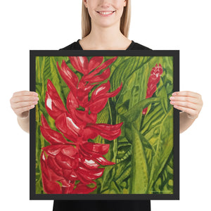 Framed Print - Red Ginger - FREE SHIPPING