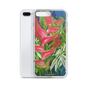 iPhone Case - Kauai Tropical Florals - FREE SHIPPING
