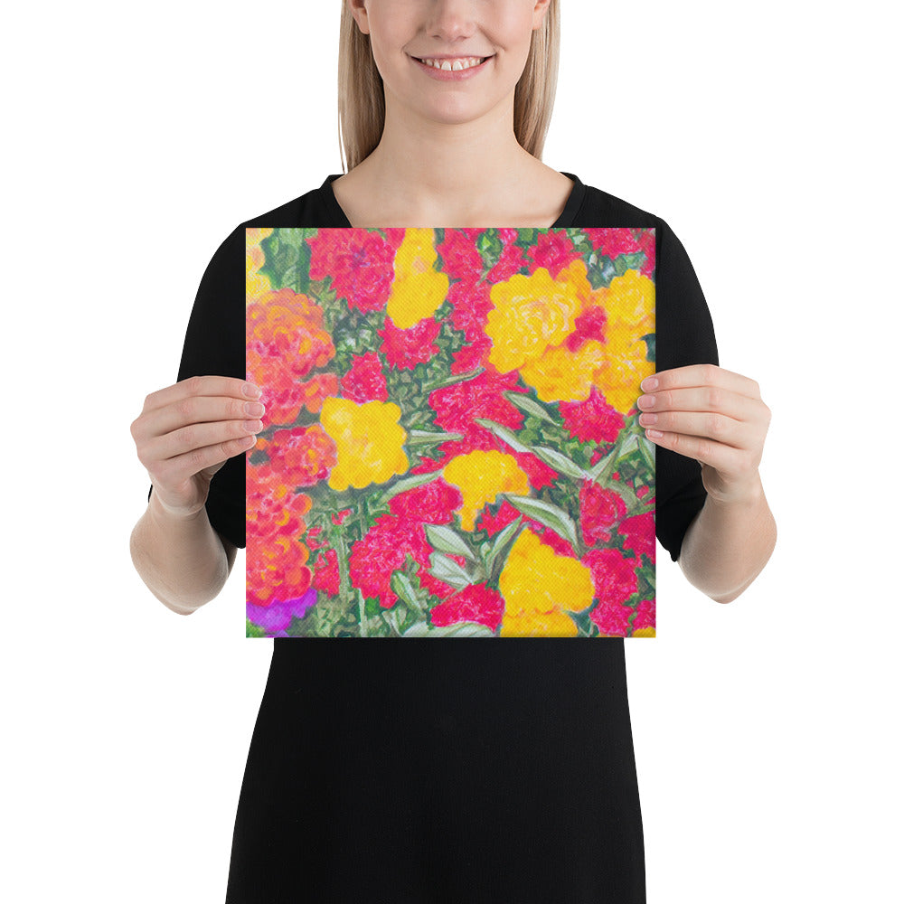 Canvas Print - Rose Garden - FREE SHIPPING