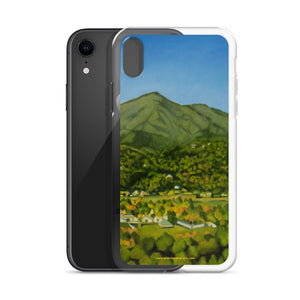 iPhone cell case - Mt Tamalpais from the studio - FREE SHIPPING