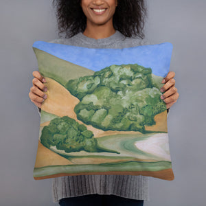 Decorative Pillow - Marin Hills Left  -  FREE SHIPPING
