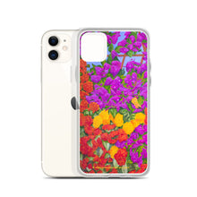 Load image into Gallery viewer, iPhone Case - Garden of flowers - FREE SHIPPING