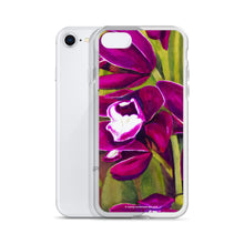Load image into Gallery viewer, iPhone Case - Dark Magenta Orchid - FREE SHIPPING