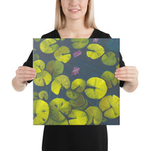 Load image into Gallery viewer, Canvas Print - Waterlilies - FREE SHIPPING