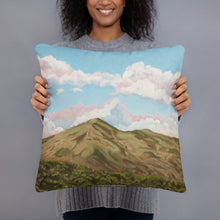 Load image into Gallery viewer, Decorative Pillow - Sun on Mt Tamalpais - FREE SHIPPING
