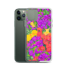 Load image into Gallery viewer, iPhone Case - Rainbow Garden - FREE SHIPPING