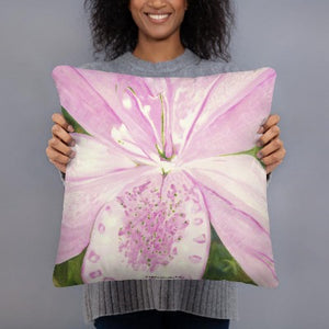 Decorative Pillow - Light pink Lily