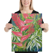 Load image into Gallery viewer, Canvas Print - Kauai Tropical Florals - FREE SHIPPING