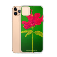 Load image into Gallery viewer, iPhone Case - Tall hibiscus rosa-sinensis - FREE SHIPPING